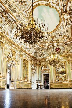 Baroque ballroom ~Grand Mansions, Castles & Luxury Homes