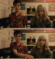 The end of the f***ing world     James and Alyssa