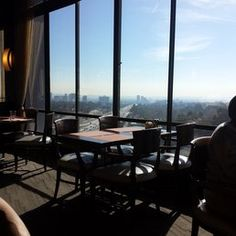 West Restaurant & Lounge - Los Angeles, CA, United States. Great views!