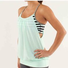 Lulemon no limits tank top Grey no limits tank. Perfect condition, worn once lululemon athletica Tops Tank Tops
