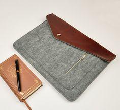 Felt laptop bag ,laptop case for macbook pro macbook air ,macbook sleeve ,laptop sleeve  (34036) by URPICK on Etsy https://www.etsy.com/listing/185758823/felt-laptop-bag-laptop-case-for-macbook