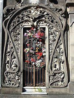 Art Nouveau Entrance, Buenos Aires