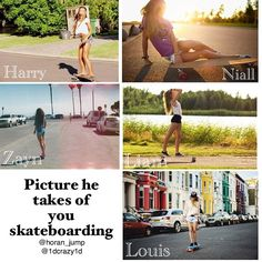 More like picture he takes of me falling off a skate board