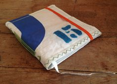 upcycled sail for calendar, handmade by jani lunablau