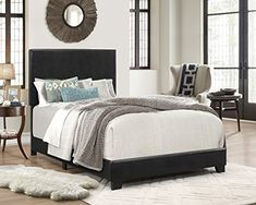 Crown Mark Erin Upholstered Bed, Twin