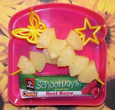 Kindergarten Yellow Day Snack