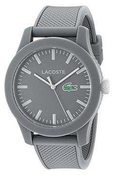 7b0b0eea349 Lacoste Men s 2010767 Lacoste.12.12 Analog Display Japanese Quartz Grey Watch  Lacoste http