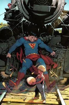 Something Marvel? Bit of both! Mundo Superman, Superman Family, Superman Comic, Superman Stuff, Comic Book Artists, Comic Books Art, Comic Art, Marvel Vs, Hq Dc