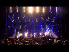 """Carrie Underwood singing """"Paradise City"""" at the CMS Music Festival.  She rocks it and since she's a Christian conservative, I had to pin it.  AMAZING!  Move over Guns N Roses!!!"""