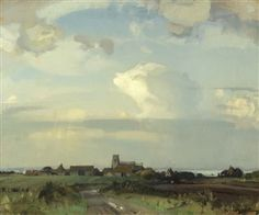 Morston, Norfolk by Sir John Alfred Arnesby Brown
