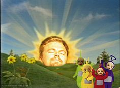 Leo's giant head: | The Most Culturally Important Leonardo DiCaprio . This is why I love him