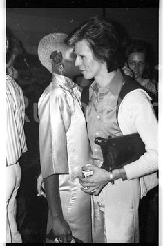 Ava Cherry and Bowie, New York, early-mid 1974