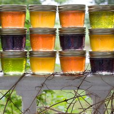 Kool-Aid Jelly--This is the DUMBEST thing I have ever seen. What a waste of time! Jam And Jelly, Jelly Jelly, Kitchen Witchery, Kool Aid, Fruit Preserves, Jelly Recipes, Vegetarian Recipes Easy, Preserving Food, Raw Vegan