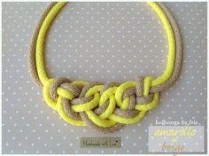 Bolboreta by Iria (complementos): Collares de nudos