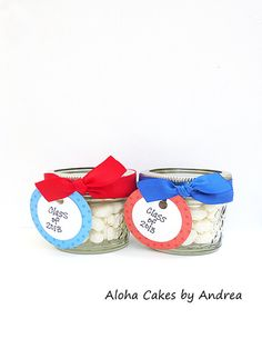 Graduation Party Favors Mason Jar Teacher by AlohaCakesbyAndrea, $10.00