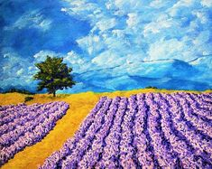 """267 Likes, 39 Comments - Mike Kraus (@mikekrausart) on Instagram: """"Lavender In Provence http://mikekraus.blogspot.com/2017/10/lavender-in-provence.html  See my work…"""""""