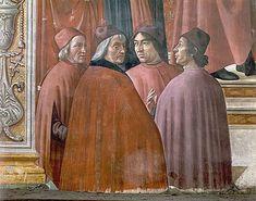 Domenico Ghirlandaio, quatre humanistes