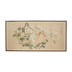 Love Birds Wall Art - OrientalFurniture.com