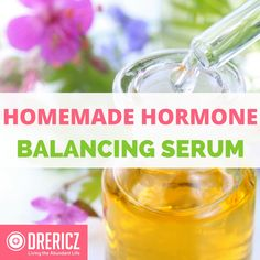 Stress and toxic chemicals can cause hormone imbalance. Create this Hormone Balancing Serum with all natural ingredients, using essential oils.