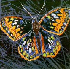 Andy Warhol butterfly