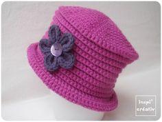 Tuto Chapeau d'hiver Enfant au Crochet