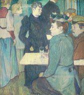 A Corner of the Moulin de la Galette by Henri de Toulouse-Lautrec, National Gallery of Art