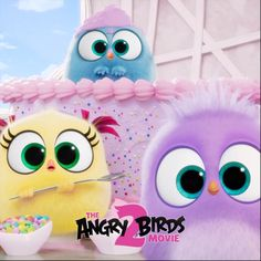 the hatchlings have a special song to share showing all moms how much we care… ? See more of the hatchlings in The in theaters August This Cartoon Gifs, Cute Cartoon, Angry Birds 2 Movie, Mothers Day Gif, Bird Birthday Parties, Bird Gif, Cute Funny Animals, Princesas Disney, Disney Wallpaper