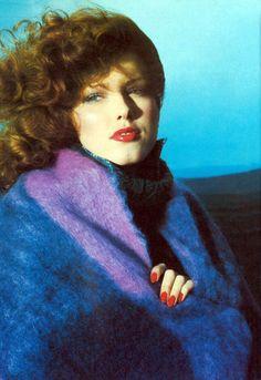 Carrie Nygren by Willie Christie. Vogue UK 1975