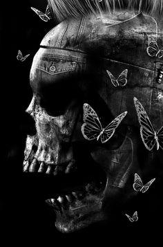 FANTASMAGORIK® SKULL DENIM by Obery Nicolas  on Behance