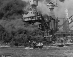 The oldest two survivors of Pearl Harbor, 103 and 104, tell how they watched the horror unfold in front of their eyes - and plan to be there again 75 years on.