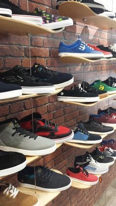 Equipment supplied by Cil Retail Solutions. Retail Solutions, Shoe Rack, Skate, Shoe Cupboard