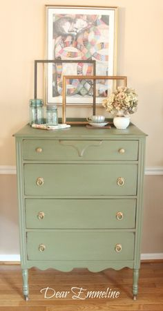 The 36th AVENUE | 60 DIY Furniture Makeovers  To do to bedroom dresser!