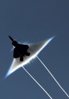 Sonic boom from below.