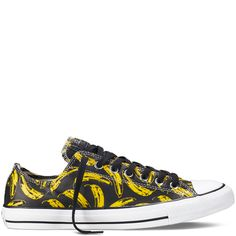 4e75991f15d0a Converse - Chuck Taylor All Star Andy Warhol -Noir - Basse Chaussure,  Baskets Noires