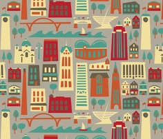 My Fair Milwaukee.  This amazing print makes me even prouder to be a Milwaukeean.  Now I just have to figure out what to make with it.