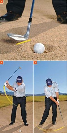 Bunker shots: How to get it out -- and stop it.