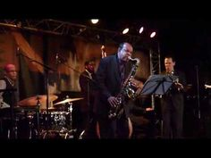 "Kurt Elling sings sublimely on Stevie Wonder's ""Golden Lady"" with sweet sax of Ernie Watts at the New Morning concert in Paris"