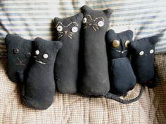 Sock cats I made