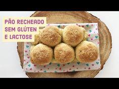 Pão recheado sem glúten e lactose super especial - YouTube