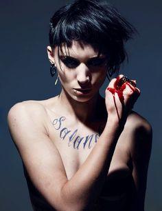 Lisbeth Salander - Rooney Mara [The girl with the dragon tattoo - La chica del dragón tatuado]