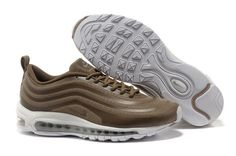 J741b Nike Air Max 97 Hyperfuse Lightbrown White