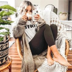 Lazy Day Outfits, Simple Outfits, Casual Outfits, Cute Outfits, Girly Outfits, Beautiful Outfits, Lounge Outfit, Lounge Wear, Comfy Outfit