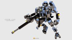 """Lecktor Class Mech"" by clmntin.E: Pimped from Flickr"