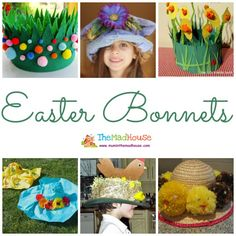 Celebrate Spring and Easter with this brilliant Easter bonnets and hat. There is something for kids of all ages. We adore Easter Projects, Easter Crafts, Easter Ideas, Easter Activities, Preschool Ideas, Toddler Activities, Easter Hat Parade, Diy And Crafts, Crafts For Kids