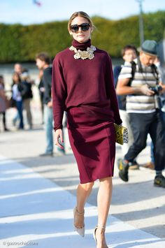 How to Style It: Olivia Palermo at Nina Ricci SS2015