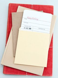 Paper Mash | Library Birthday Card