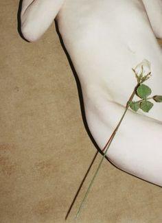 """efedra:  """" Kristen McMenamy by Juergen Teller for 032c #21, Summer 2011  """""""