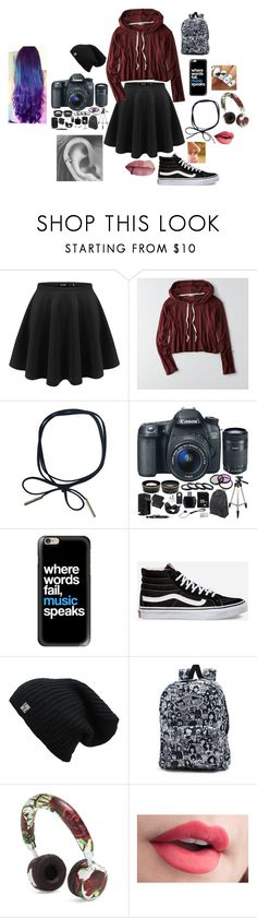 """Read D!!!! filming a video with sam pottorff and joel courtney"" by allie-peay ❤ liked on Polyvore featuring American Eagle Outfitters, Eos, Casetify, Vans and Dolce&Gabbana"
