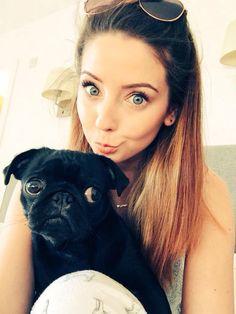 Nala is like the cutest pug ever!#lovezoe