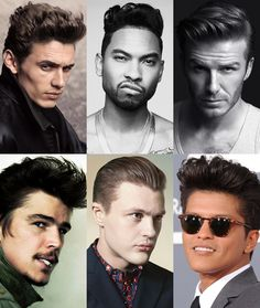 The pompadour haircut is a classic style that suits men of all ages, face shapes and hair types. Barbers tell us how to style a modern pompadour. Mens Hairstyles 2014, Mens Hairstyles Pompadour, Pompadour Men, Modern Pompadour, Hairstyles Haircuts, Haircuts For Men, Trendy Hairstyles, Hairstyle Men, Hair Styles 2014
